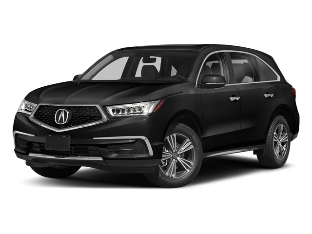 Crystal Black Pearl 2018 Acura MDX Pictures MDX FWD photos front view