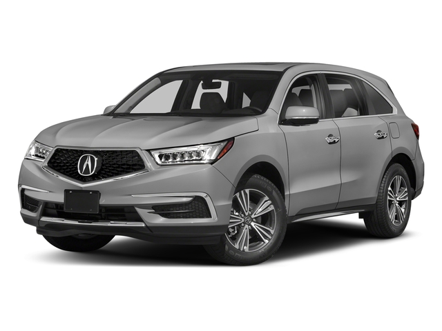 Lunar Silver Metallic 2018 Acura MDX Pictures MDX FWD photos front view