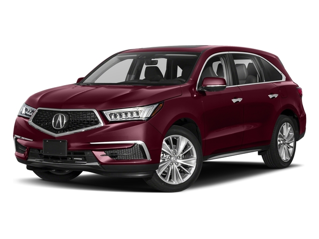 Basque Red Pearl II 2018 Acura MDX Pictures MDX FWD w/Technology Pkg photos front view