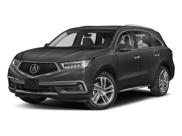 Modern Steel Metallic 2018 Acura MDX Pictures MDX SH-AWD w/Advance/Entertainment Pkg photos front view