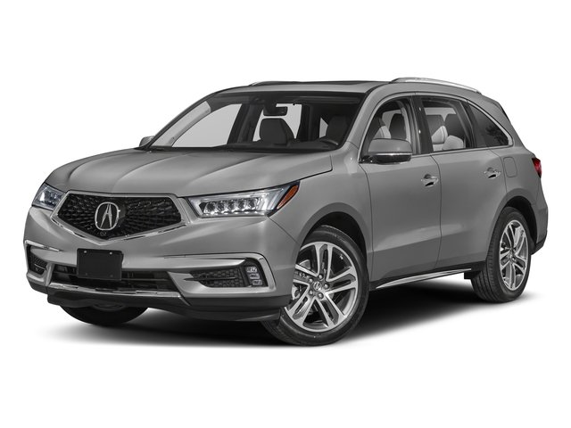 Lunar Silver Metallic 2018 Acura MDX Pictures MDX SH-AWD w/Advance/Entertainment Pkg photos front view