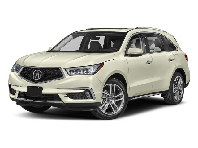 White Diamond Pearl 2018 Acura MDX Pictures MDX SH-AWD w/Advance/Entertainment Pkg photos front view