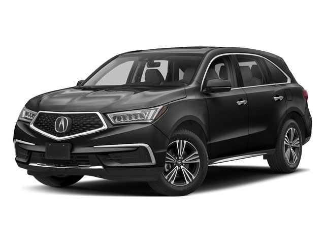 Crystal Black Pearl 2018 Acura MDX Pictures MDX SH-AWD photos front view