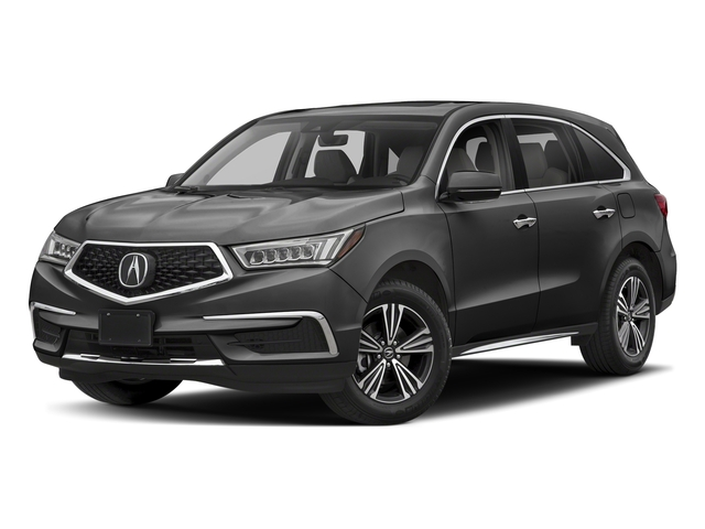 Modern Steel Metallic 2018 Acura MDX Pictures MDX SH-AWD photos front view