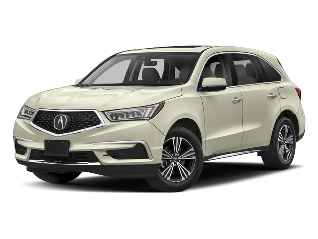 White Diamond Pearl 2018 Acura MDX Pictures MDX Utility 4D AWD photos front view