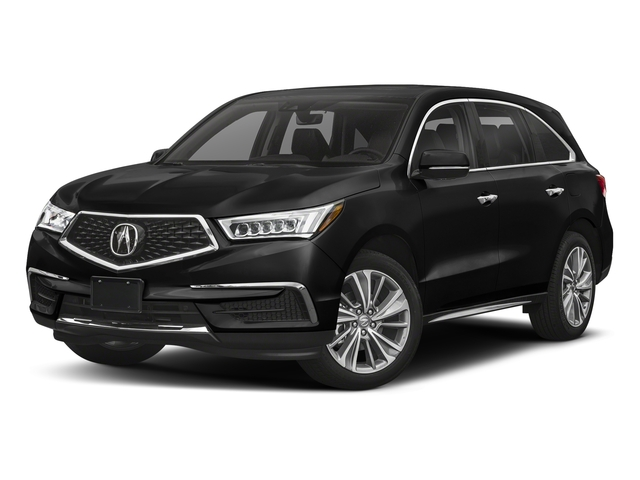 Crystal Black Pearl 2018 Acura MDX Pictures MDX SH-AWD w/Technology/Entertainment Pkg photos front view