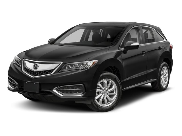Crystal Black Pearl 2018 Acura RDX Pictures RDX AWD w/Technology Pkg photos front view
