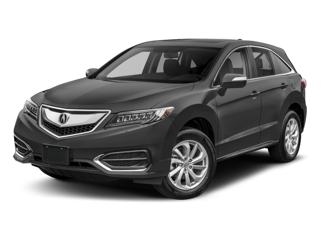Modern Steel Metallic 2018 Acura RDX Pictures RDX AWD w/Technology Pkg photos front view