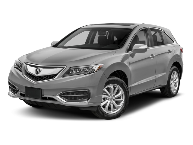 Lunar Silver Metallic 2018 Acura RDX Pictures RDX AWD w/Technology Pkg photos front view