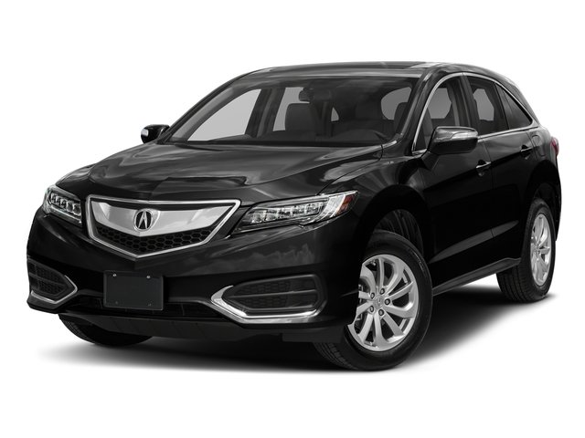 Crystal Black Pearl 2018 Acura RDX Pictures RDX Utility 4D Technology 2WD V6 photos front view
