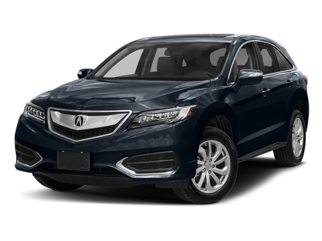 Fathom Blue Pearl 2018 Acura RDX Pictures RDX Utility 4D Technology 2WD V6 photos front view