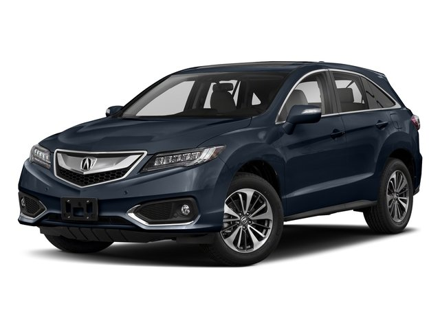 Fathom Blue Pearl 2018 Acura RDX Pictures RDX Utility 4D Advance 2WD V6 photos front view