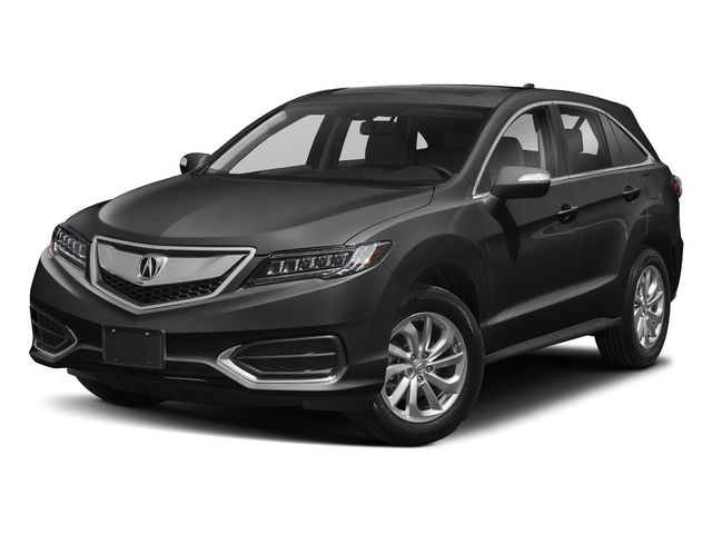 Modern Steel Metallic 2018 Acura RDX Pictures RDX AWD w/AcuraWatch Plus photos front view