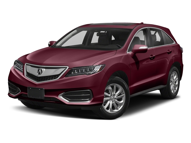 Basque Red Pearl II 2018 Acura RDX Pictures RDX AWD w/AcuraWatch Plus photos front view