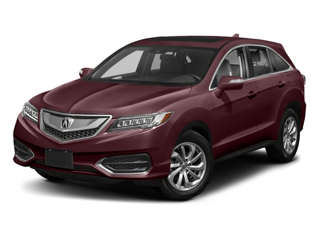 Basque Red Pearl II 2018 Acura RDX Pictures RDX FWD w/AcuraWatch Plus photos front view
