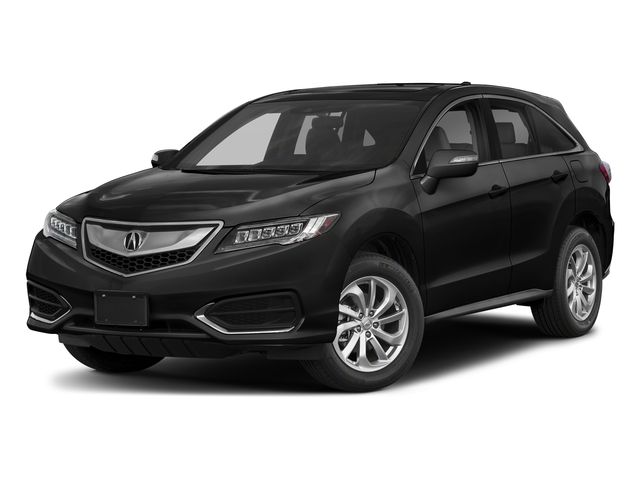 Crystal Black Pearl 2018 Acura RDX Pictures RDX FWD w/Technology/AcuraWatch Plus Pkg photos front view