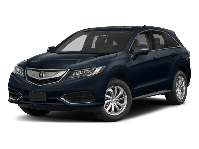 Fathom Blue Pearl 2018 Acura RDX Pictures RDX FWD w/Technology/AcuraWatch Plus Pkg photos front view