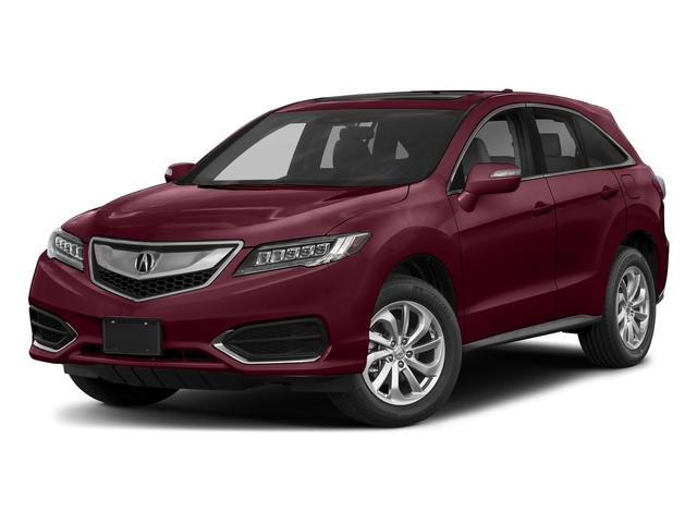 Basque Red Pearl II 2018 Acura RDX Pictures RDX FWD w/Technology/AcuraWatch Plus Pkg photos front view