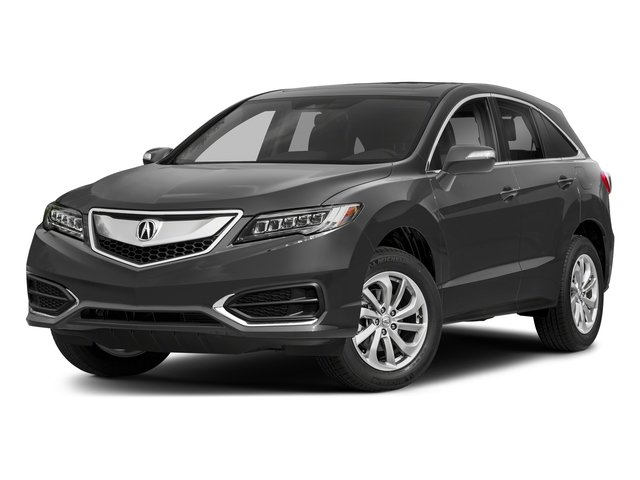 Modern Steel Metallic 2018 Acura RDX Pictures RDX AWD w/Technology/AcuraWatch Plus Pkg photos front view