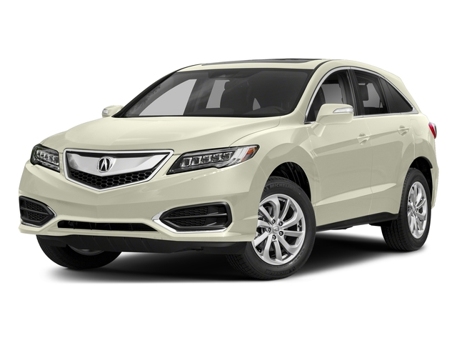 White Diamond Pearl 2018 Acura RDX Pictures RDX AWD w/Technology/AcuraWatch Plus Pkg photos front view