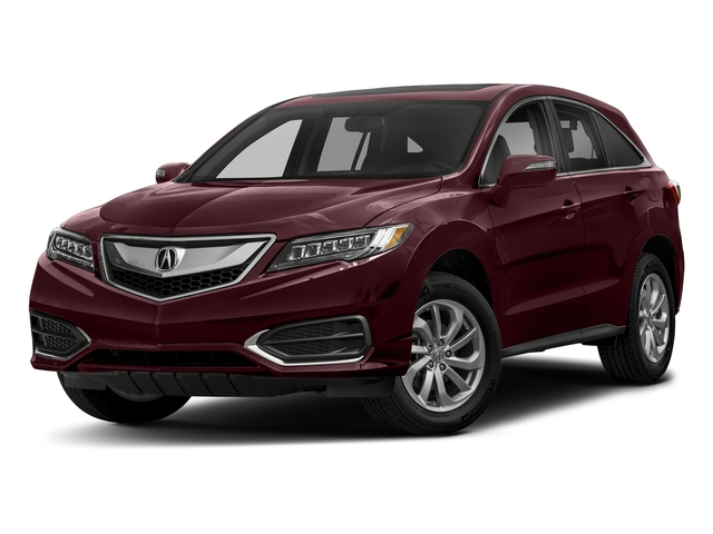 Basque Red Pearl II 2018 Acura RDX Pictures RDX Utility 4D AWD V6 photos front view