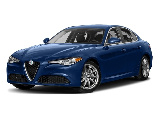 Montecarlo Blue Metallic 2018 Alfa Romeo Giulia Pictures Giulia Ti AWD photos front view