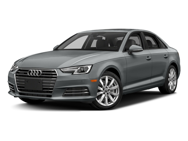 Monsoon Gray Metallic 2018 Audi A4 Pictures A4 2.0 TFSI Tech Premium Plus Manual quattro AWD photos front view