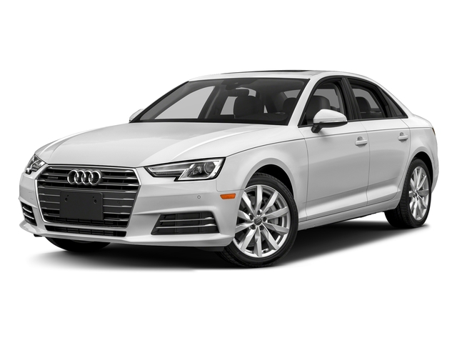 Glacier White Metallic 2018 Audi A4 Pictures A4 2.0 TFSI Tech Premium Plus Manual quattro AWD photos front view