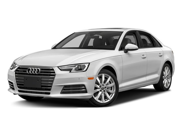 Glacier White Metallic 2018 Audi A4 Pictures A4 2.0 TFSI Premium Plus Manual quattro AWD photos front view