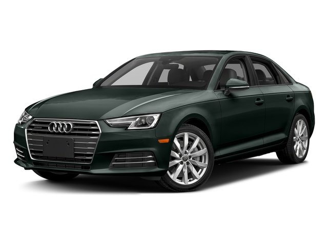 Gotland Green Metallic 2018 Audi A4 Pictures A4 2.0 TFSI Tech Premium Plus Manual quattro AWD photos front view