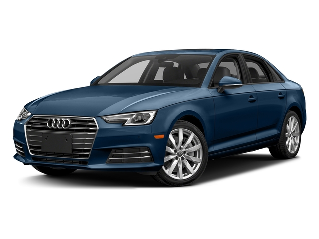 Scuba Blue Metallic 2018 Audi A4 Pictures A4 2.0 TFSI Tech Premium Plus Manual quattro AWD photos front view