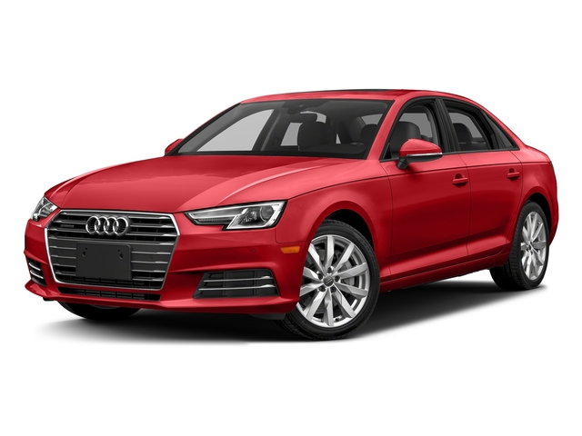 Matador Red Metallic 2018 Audi A4 Pictures A4 2.0 TFSI Tech Premium Plus Manual quattro AWD photos front view