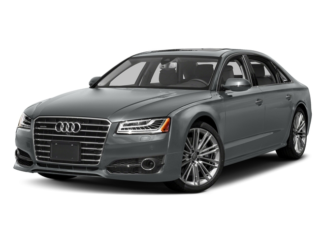 Monsoon Gray Metallic 2018 Audi A8 L Pictures A8 L 4.0 TFSI Sport photos front view
