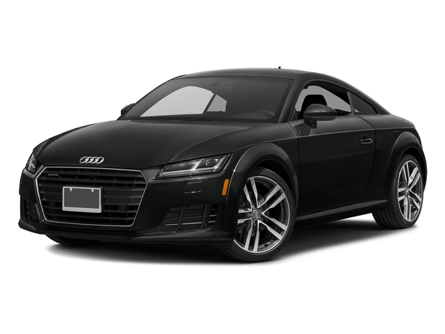 Mythos Black Metallic 2018 Audi TT Coupe Pictures TT Coupe 2.0 TFSI photos front view