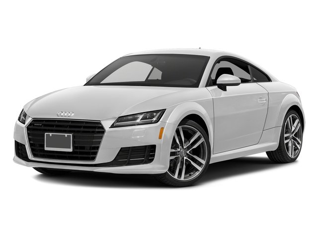 Glacier White Metallic 2018 Audi TT Coupe Pictures TT Coupe 2.0 TFSI photos front view