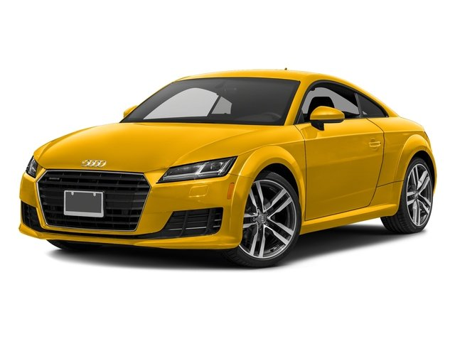 Vegas Yellow 2018 Audi TT Coupe Pictures TT Coupe 2.0 TFSI photos front view