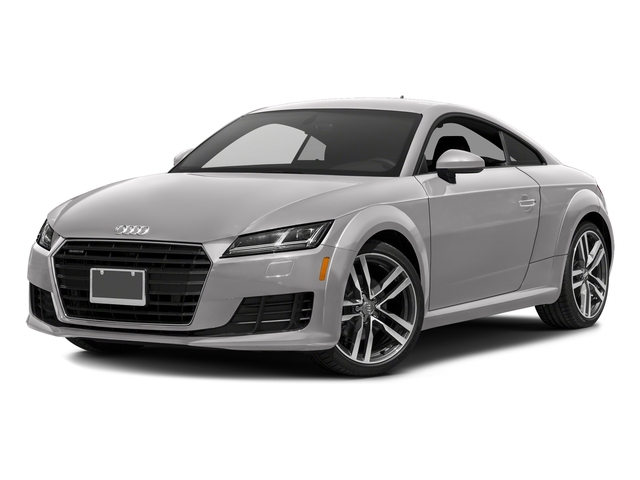 Florett Silver Metallic 2018 Audi TT Coupe Pictures TT Coupe 2.0 TFSI photos front view