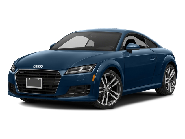 Scuba Blue Metallic 2018 Audi TT Coupe Pictures TT Coupe 2.0 TFSI photos front view
