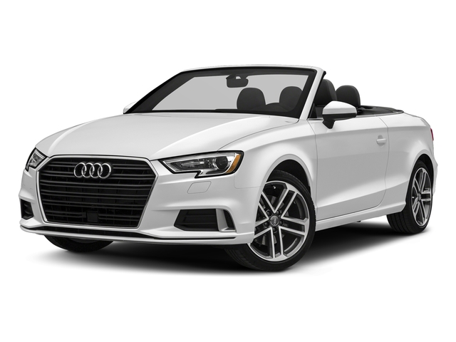 Glacier White Metallic/Black Roof 2018 Audi A3 Cabriolet Pictures A3 Cabriolet 2.0 TFSI Premium quattro AWD photos front view