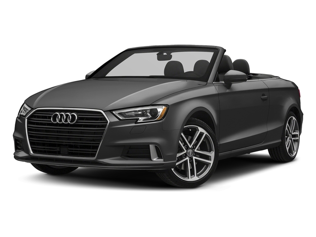 Nano Gray Metallic/Black Roof 2018 Audi A3 Cabriolet Pictures A3 Cabriolet 2.0 TFSI Premium quattro AWD photos front view