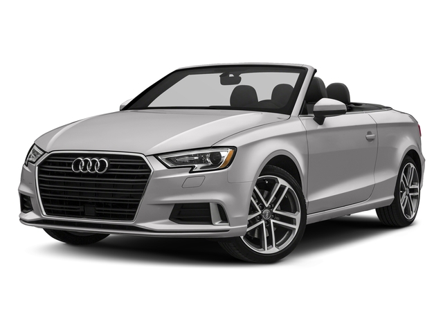 Florett Silver Metallic/Black Roof 2018 Audi A3 Cabriolet Pictures A3 Cabriolet 2.0 TFSI Premium quattro AWD photos front view