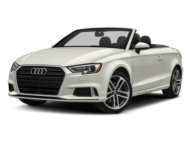 Ibis White/Black Roof 2018 Audi A3 Cabriolet Pictures A3 Cabriolet 2.0 TFSI Premium quattro AWD photos front view