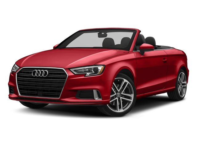 Tango Red Metallic/Black Roof 2018 Audi A3 Cabriolet Pictures A3 Cabriolet 2.0 TFSI Premium quattro AWD photos front view