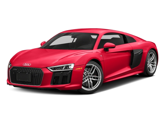 Dynamite Red 2018 Audi R8 Coupe Pictures R8 Coupe V10 quattro AWD photos front view