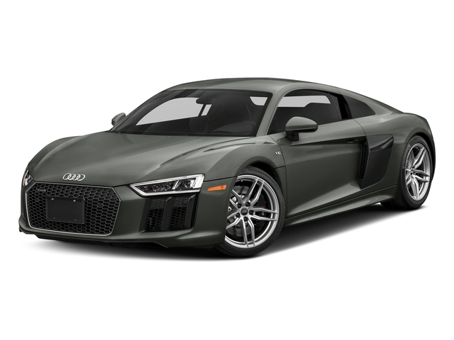 Daytona Gray Pearl Effect 2018 Audi R8 Coupe Pictures R8 Coupe V10 quattro AWD photos front view