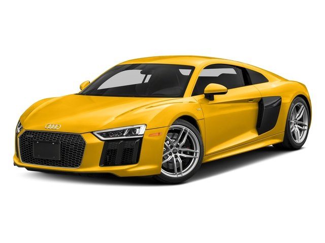 Vegas Yellow 2018 Audi R8 Coupe Pictures R8 Coupe V10 quattro AWD photos front view