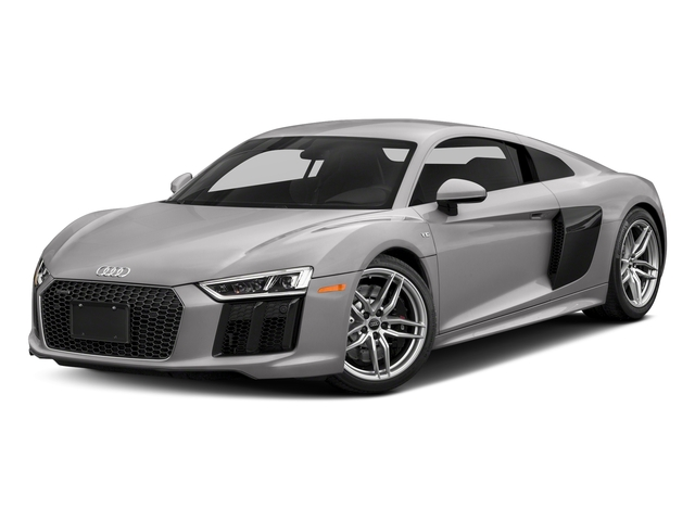 Florett Silver Metallic 2018 Audi R8 Coupe Pictures R8 Coupe V10 quattro AWD photos front view