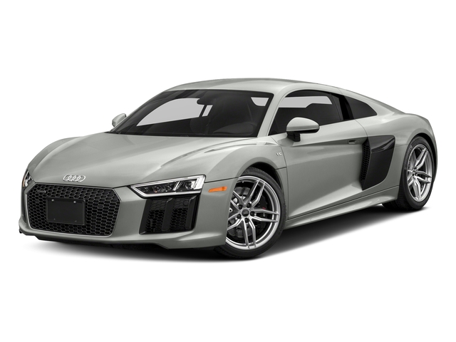Suzuka Gray Metallic 2018 Audi R8 Coupe Pictures R8 Coupe V10 quattro AWD photos front view