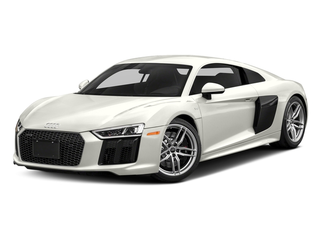Ibis White 2018 Audi R8 Coupe Pictures R8 Coupe V10 quattro AWD photos front view