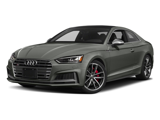 Daytona Gray Pearl Effect 2018 Audi S5 Coupe Pictures S5 Coupe 3.0 TFSI Prestige photos front view
